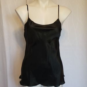 Aeffe Size 6 Black Polyester Cami